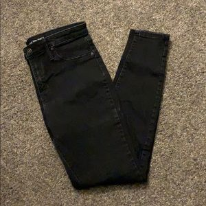 Mossimo Black High Rise Jeggings